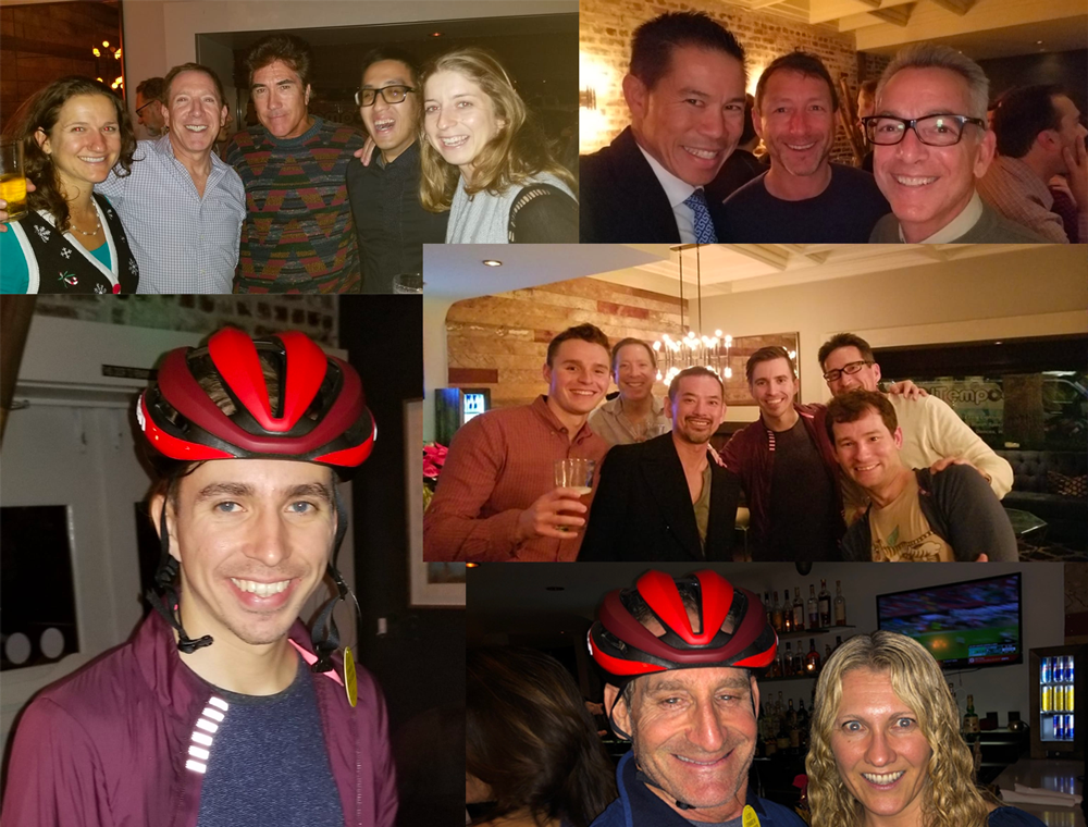 A fun time at the December Happy Hour was had by all.