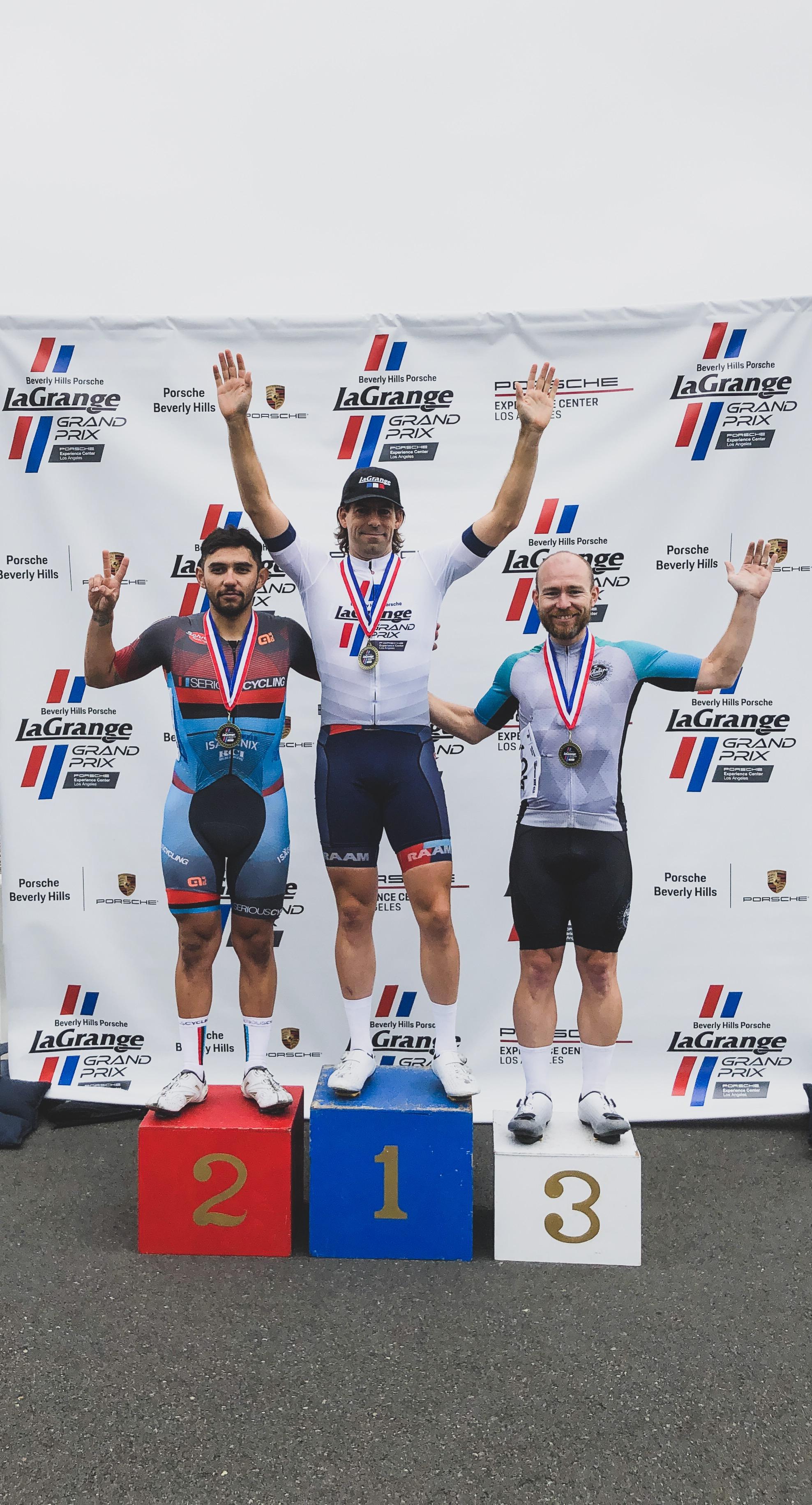 Congrats to Steven Walter winning the men's 4/5 race at LGGP
