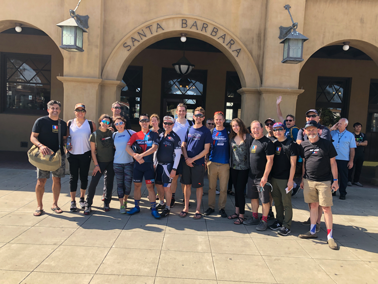 Everyone took the train back…except Leo. Leo not only rode 42 miles to meet the group at Van Nuys he rode home for a total mileage of 238 miles for the day.