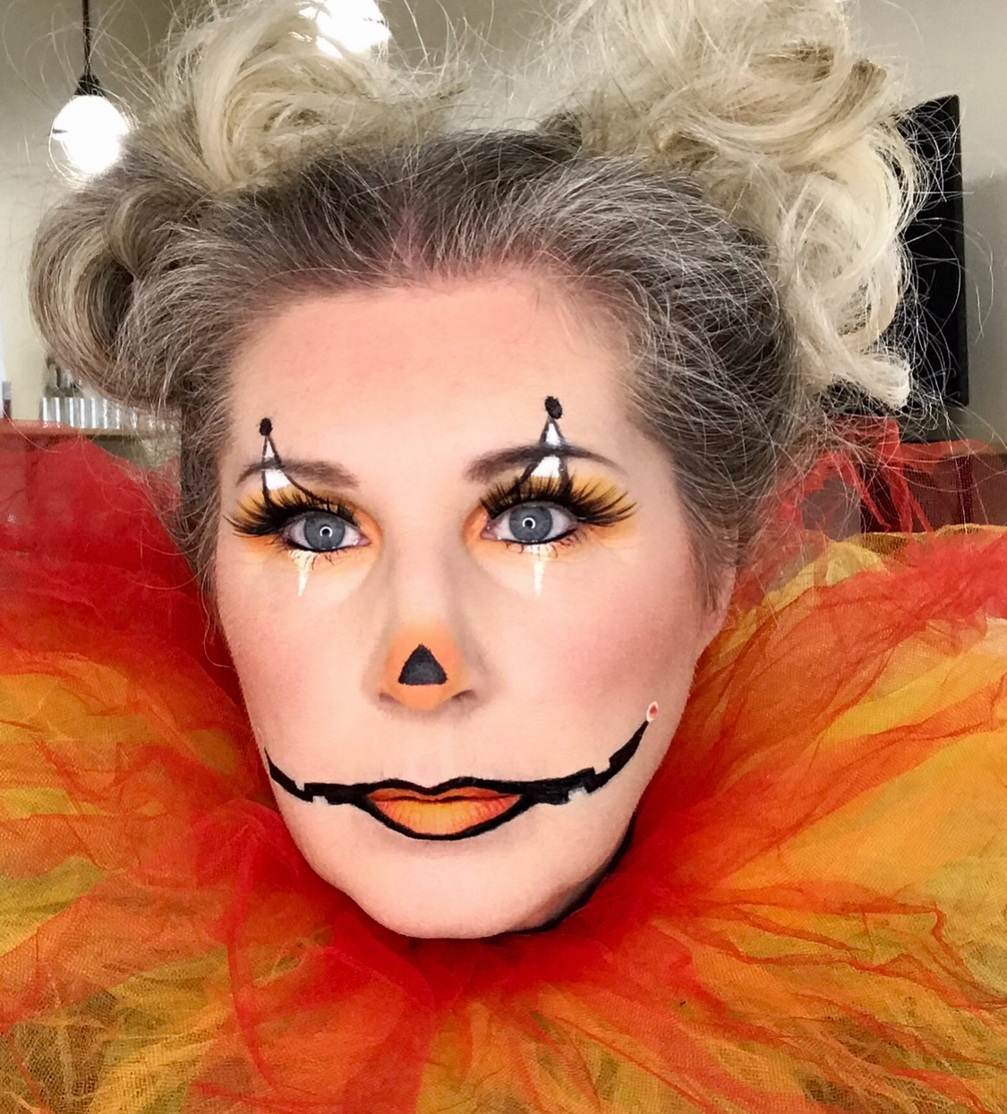 Candy Corn Clown ~ Sherri Collins