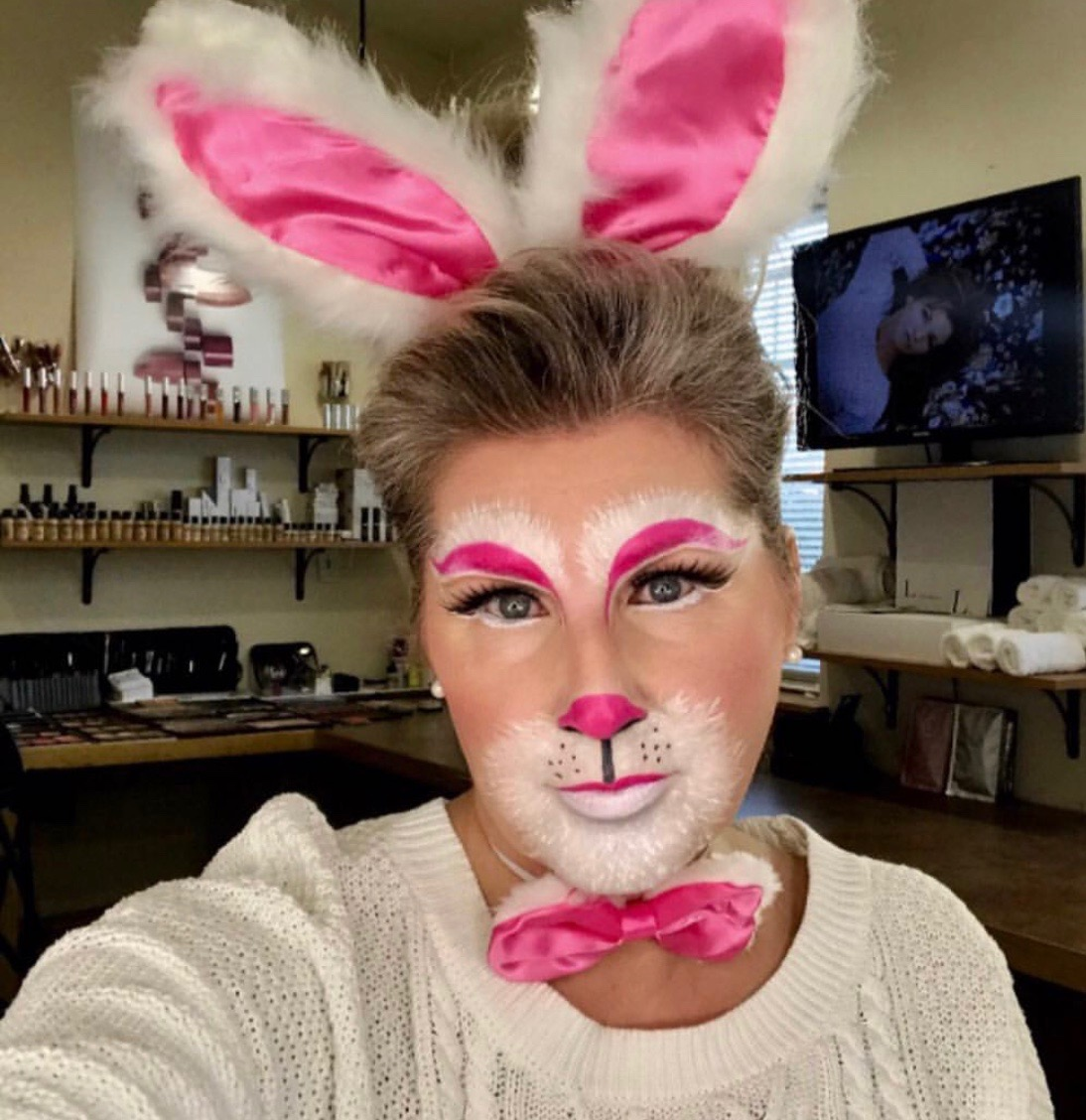 Pink Bunny ~ Sherri Collins