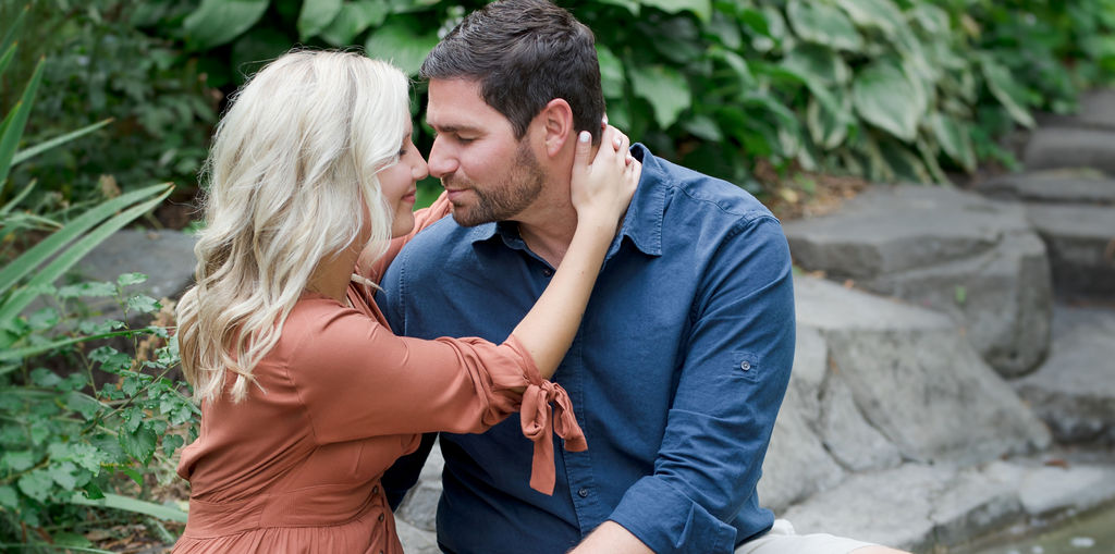 gorgeous engagement photography mn