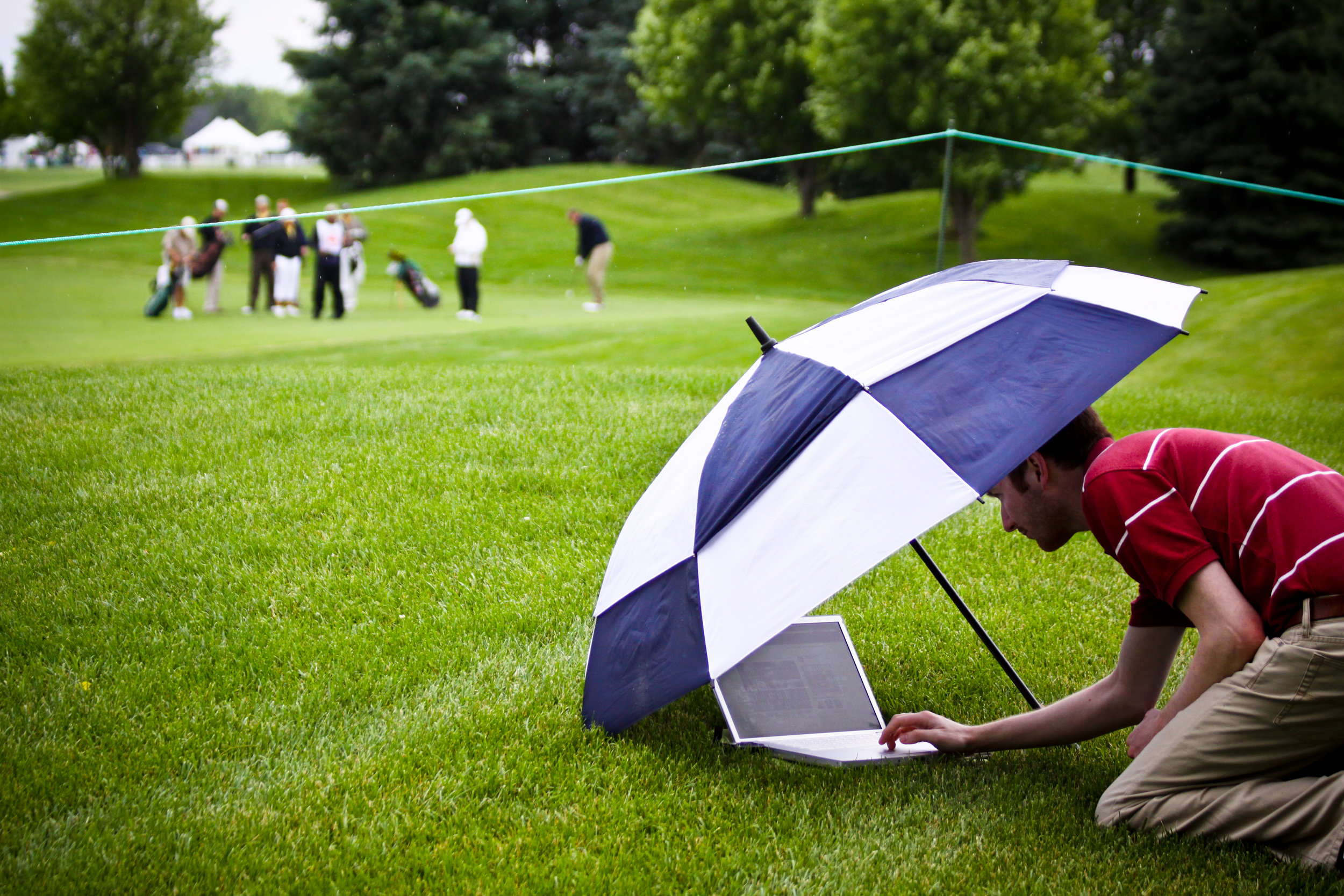 Photo by Matt Edwards. In 2010, I uploaded photos from the LPGA State Farm Classic golf tournament.