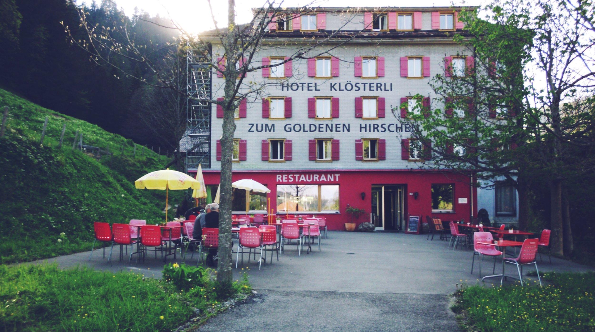 Hotel & restaurant in Switzerland.