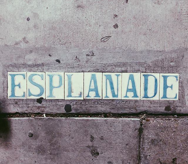 Spotted near another playa.#neworleans #esplanade
