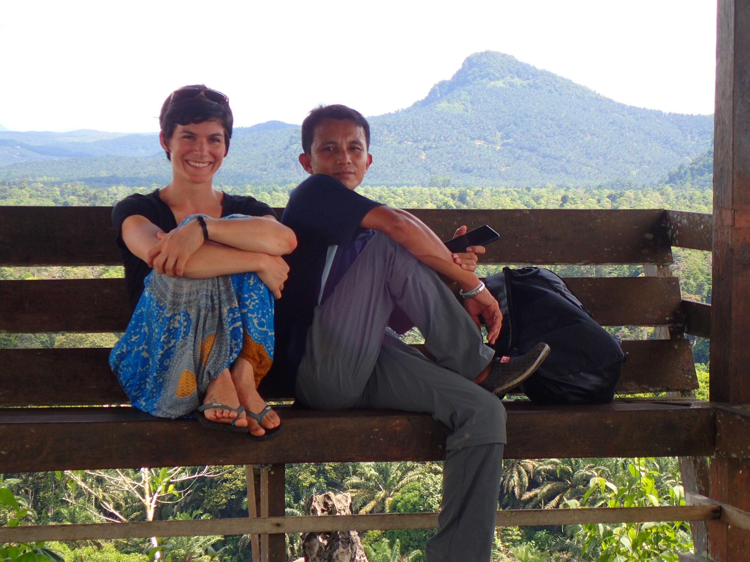 Azman and I at Batu Tulug cave.