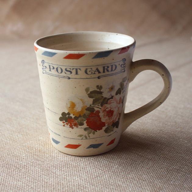Post Card Stoneware Mug