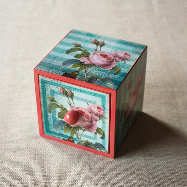 Vintage Rose Mini Drawer