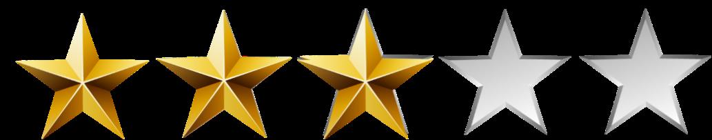 3 Stars and Below OR <100 Reviews