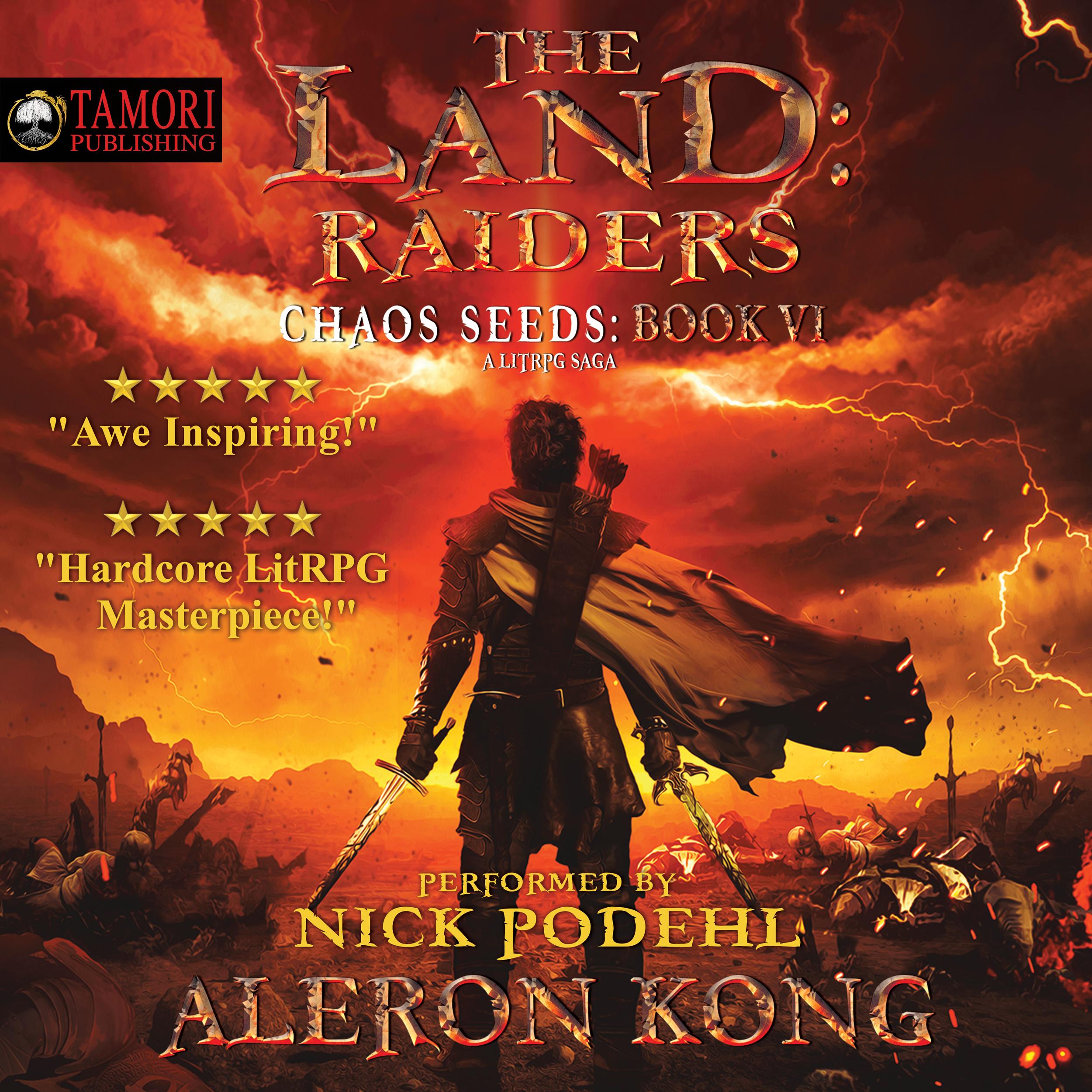 #LitRPG #Aleron #Author #TheLand #ChaosSeeds #GnomesRule