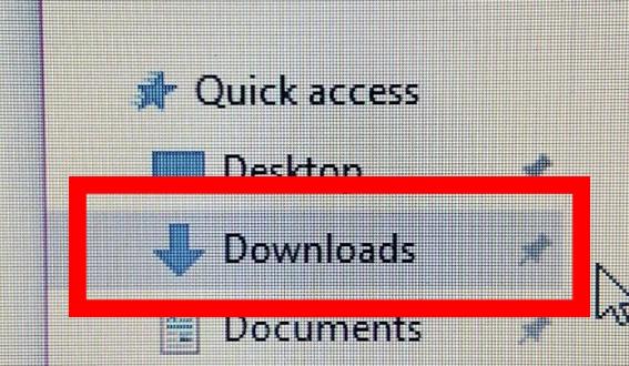 Step 2 PC - Locate your .m4r File in Downloads Folder
