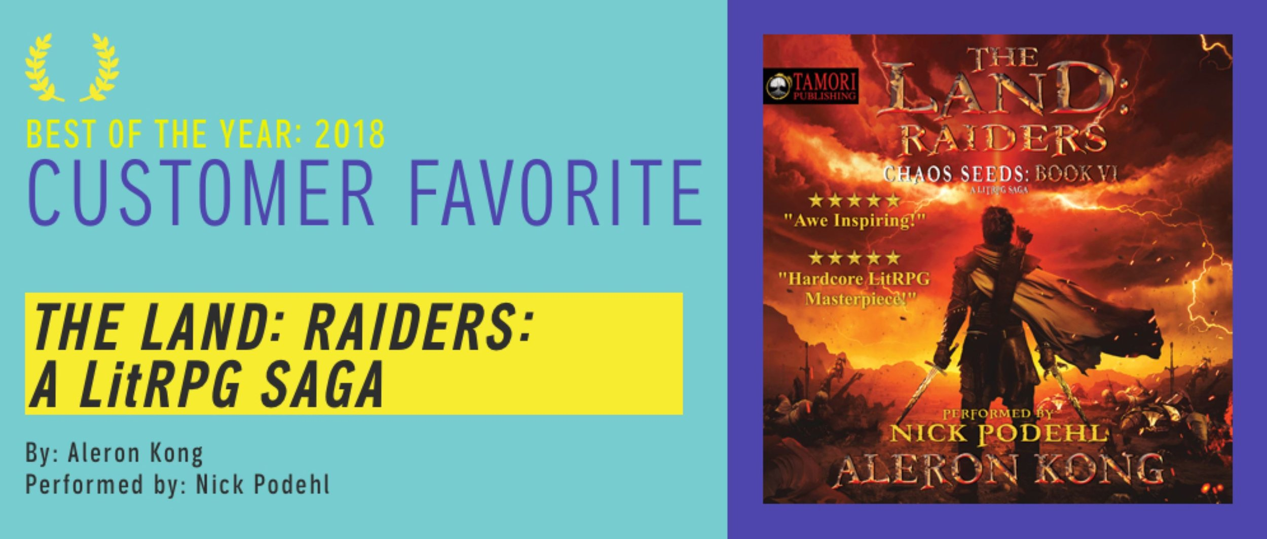 Customer Favorite Audible 2018 Book 6 Raiders.JPG