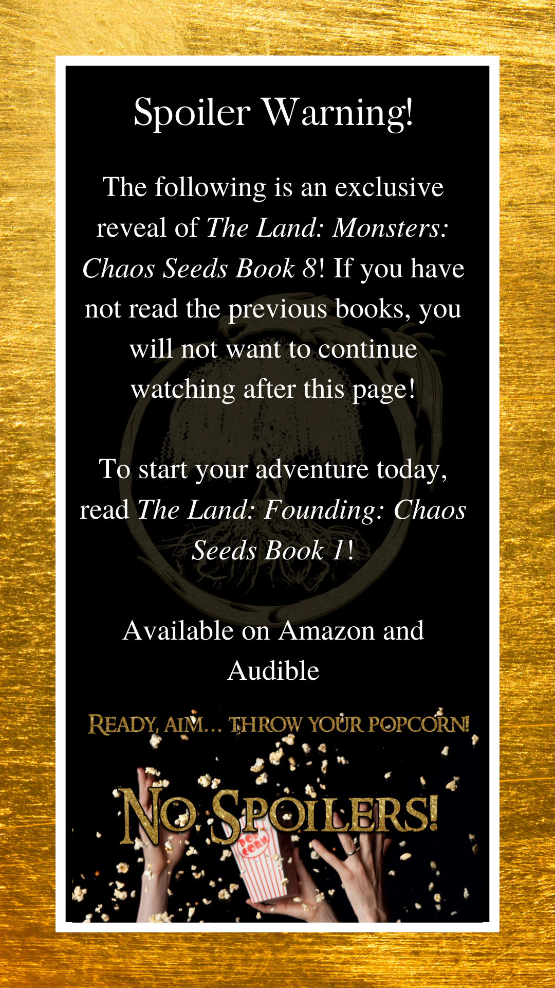 the land book 8 audible release date