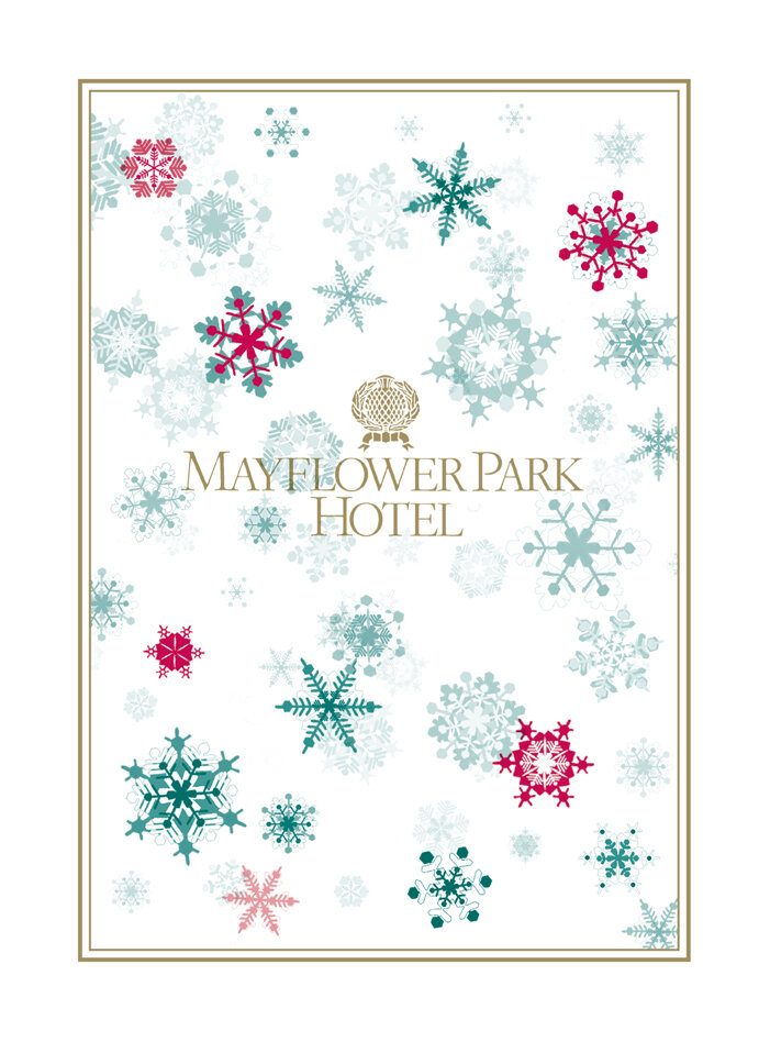 Christmas Card for Mayflower Park Hotel