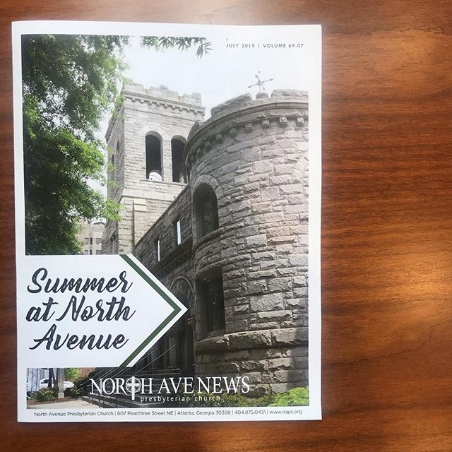 Be sure to pick up our July Newsletter next time you're at church to find out all the happenings here North Avenue and how you can get involved!