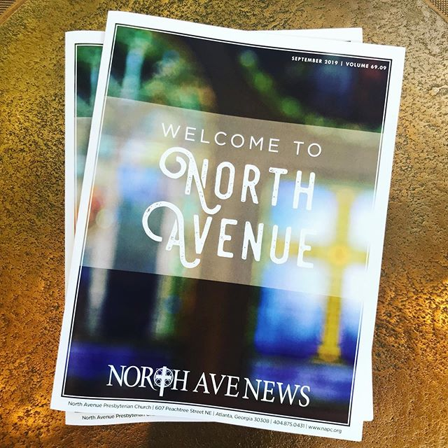Be sure you pick up our September Newsletter next time you are at North Ave. to see how you can get connected!