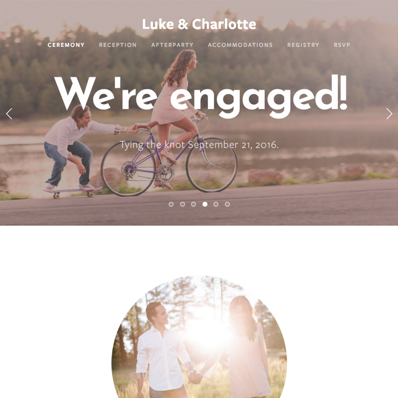Charlotte Squarespace template