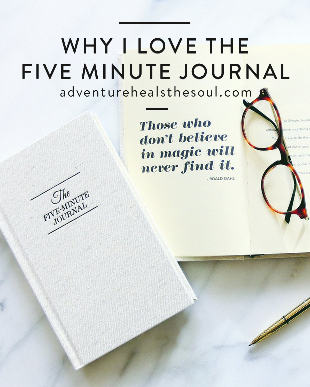 Why I Love The 5 Minute Journal