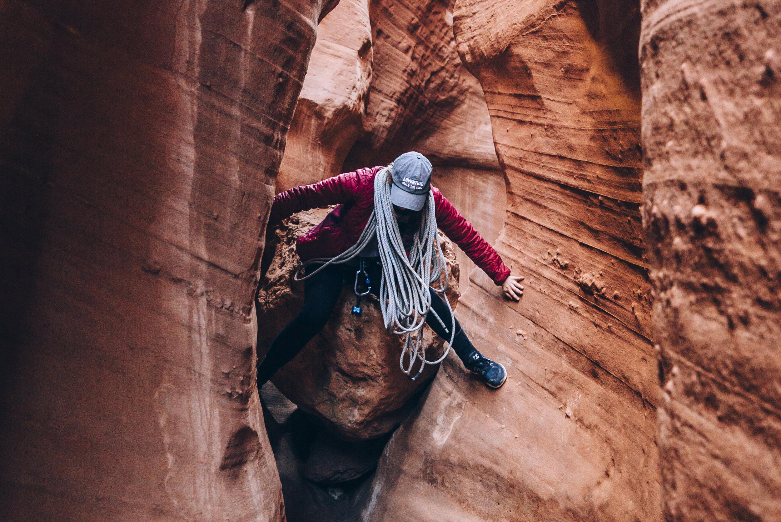 Utah Canyoneering | Egypt 1 Slot Canyon.jpg
