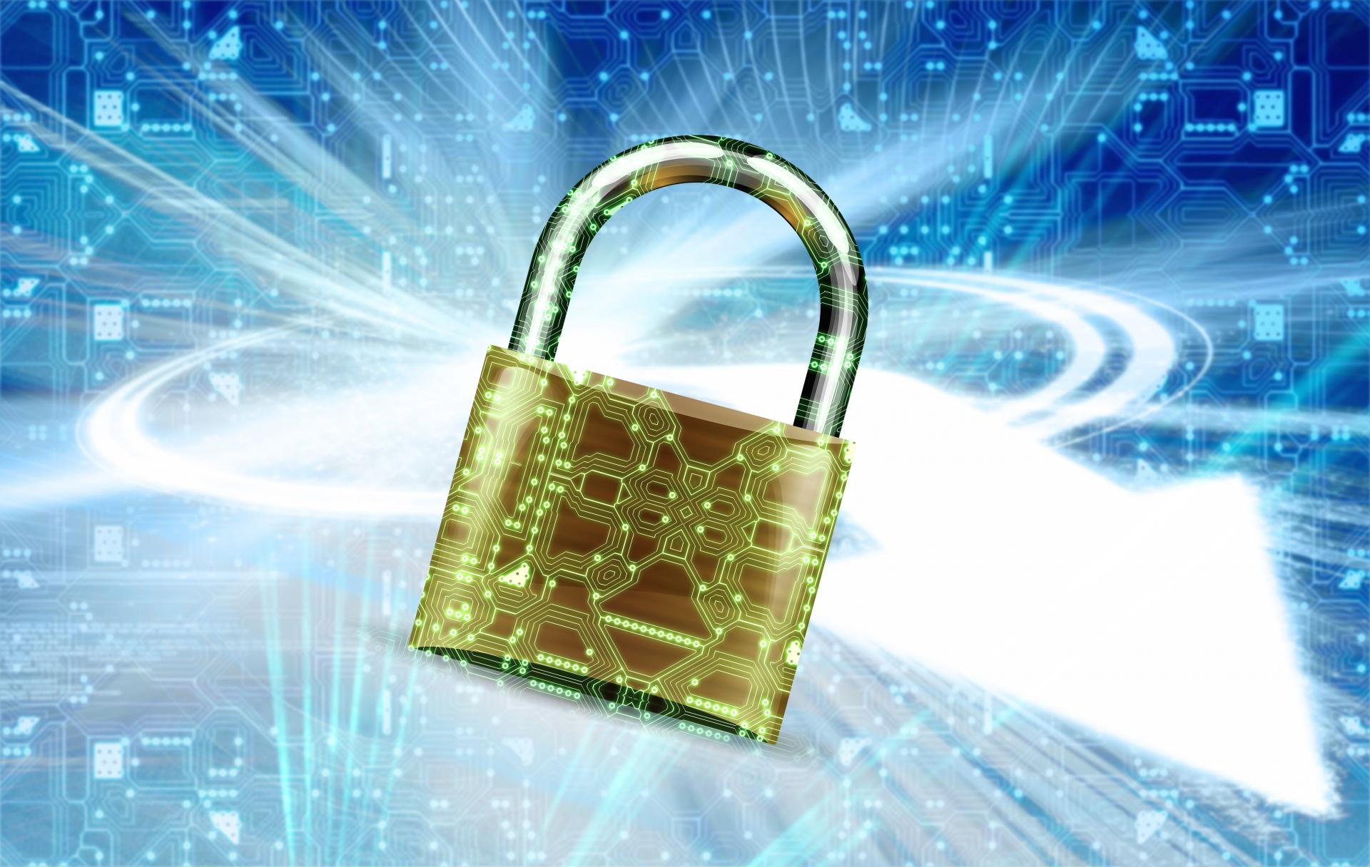 Electronically secure.  Image credit: Flash Alexander via PublicDomainPictures.net