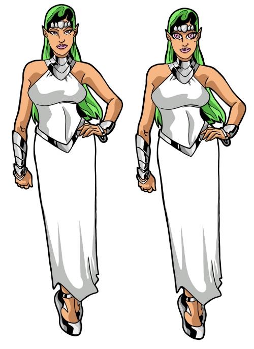 Ditah, Gemini's wife