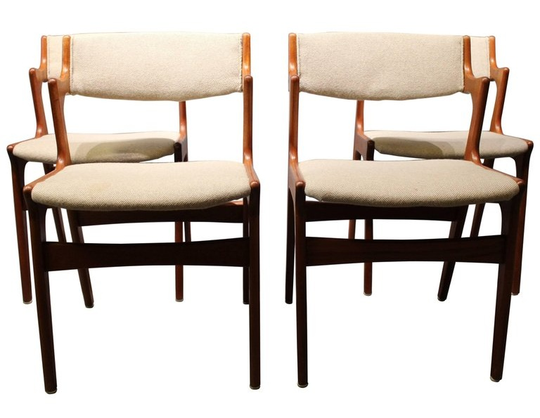 Dyrlund/Nova Teak Dining Chairs, 1960s