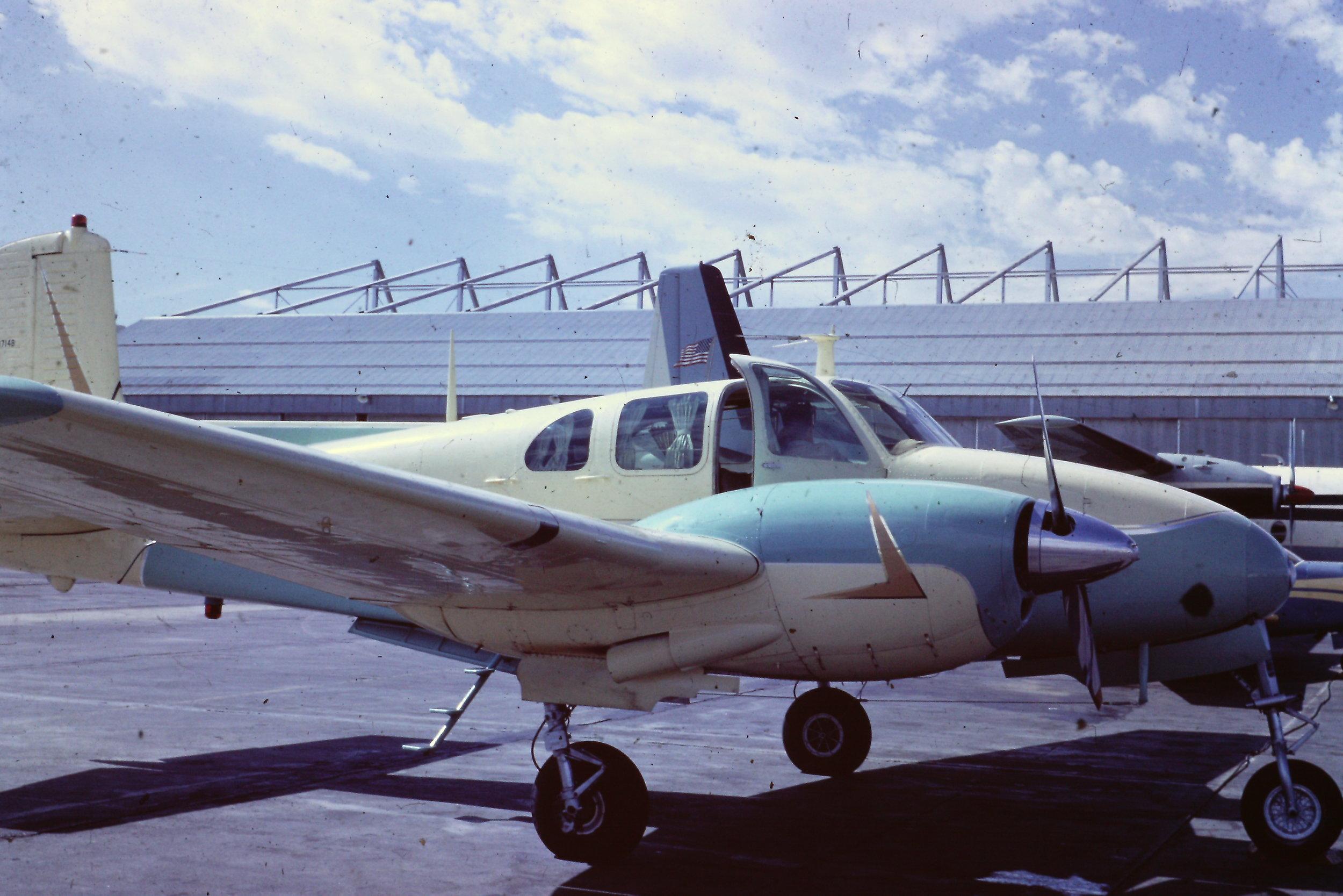 Donald A. Gravenstein's Plane
