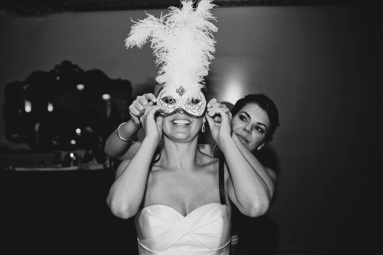 masquerade - downtown Chicago ballroom wedding