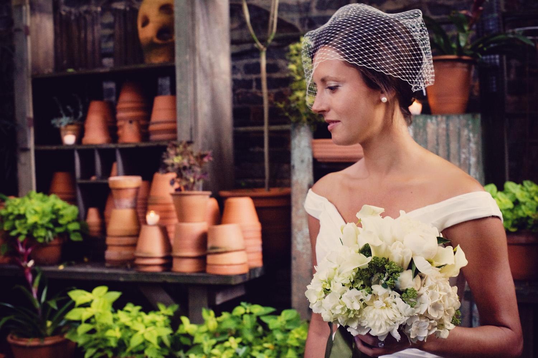urbs in horto - Chicago flower shop loft wedding