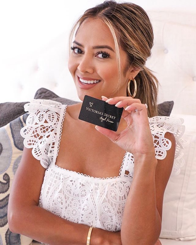 As a girl, you grow up obsessing over @victoriassecret ... So I am extremely grateful and honored to be chosen as an Angel Card Ambassador this year!  I cannot wait to go shopping with my new Angel Card and take advantage of the ALL. NEW. BENEFITS. launching today. Learn more in the link in my bio to take advantage of it yourself! #ACAmbassador #AngelsGetMore