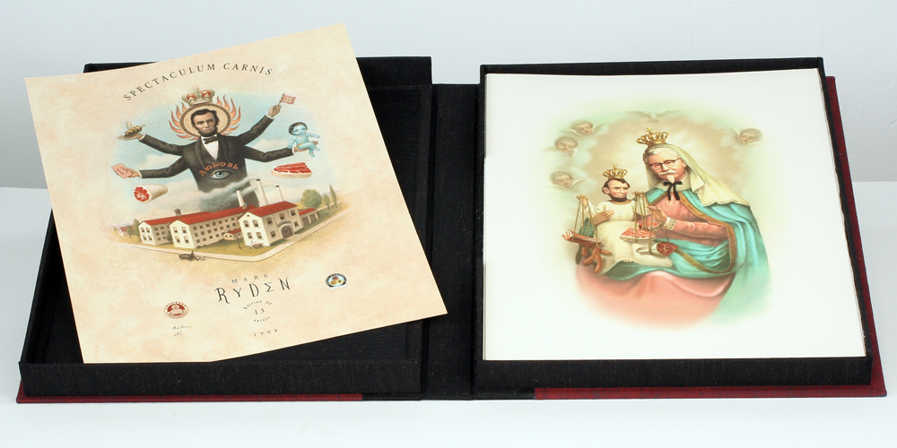 Spectaculum Carnis  by Mark Ryden. Limited edition portfolio in custom clamshell box.