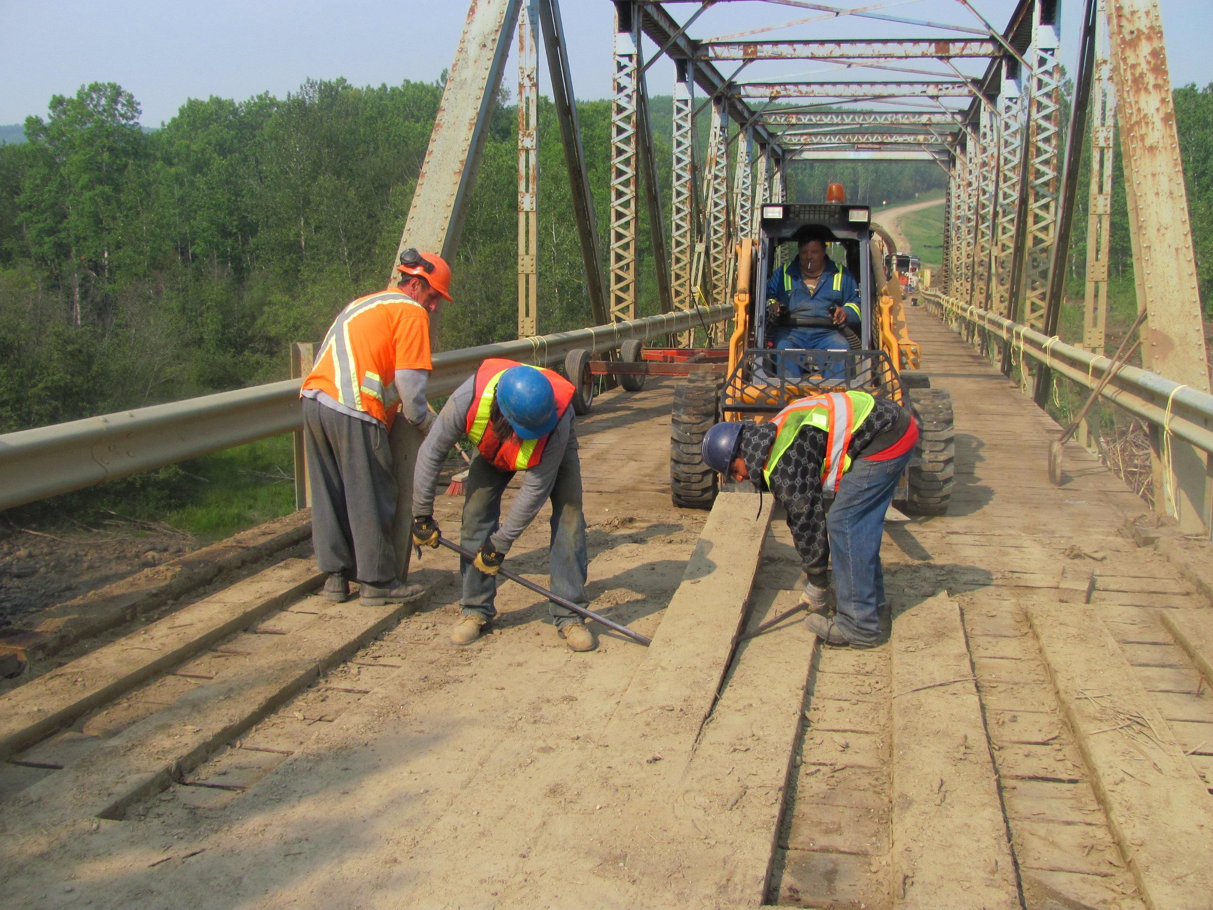 Bridge Demolition: Edmonton