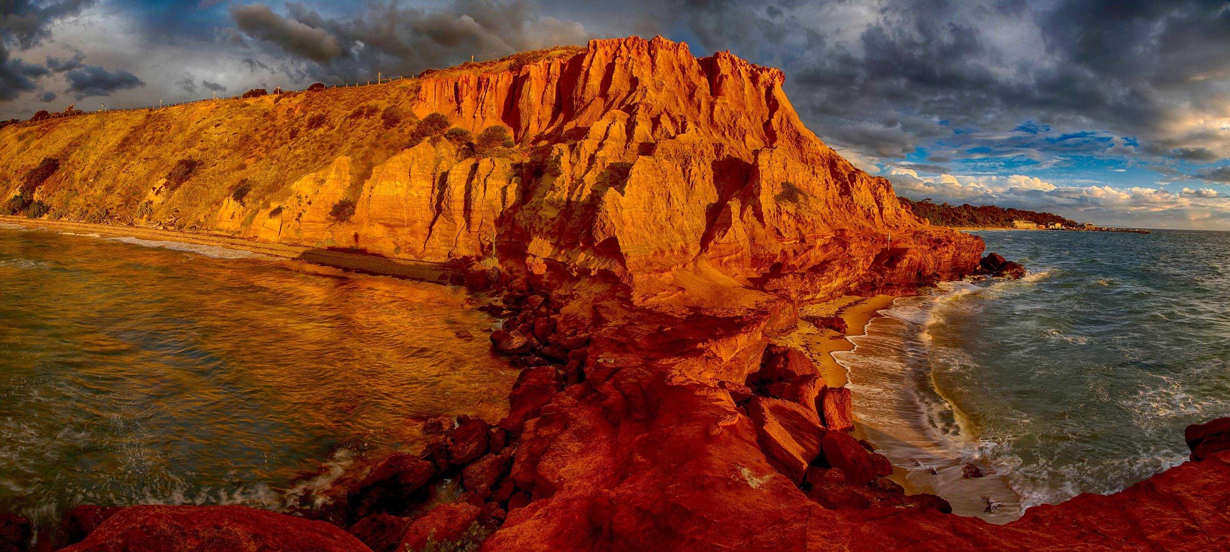 Red Bluff Panorama 1