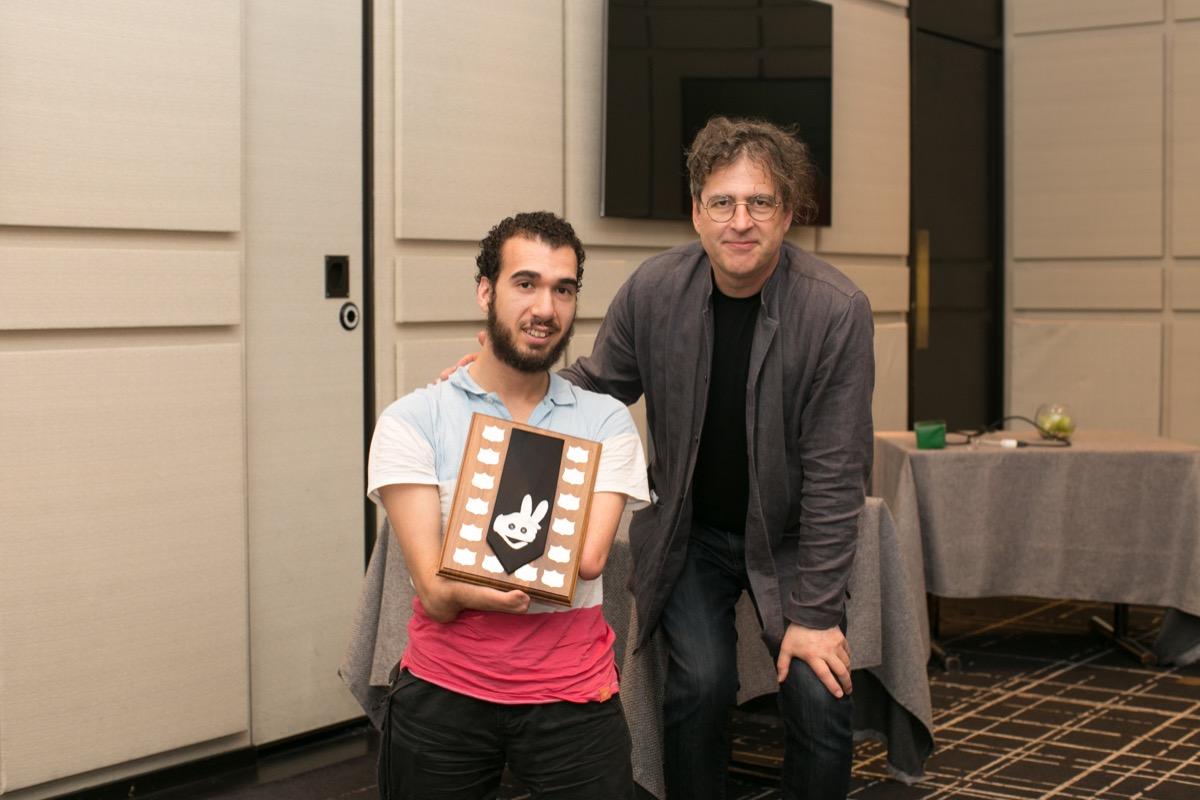 2015 Jay Marshall Award - Mahdi Gilbert