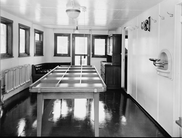 Officers' DIning Saloon 1939
