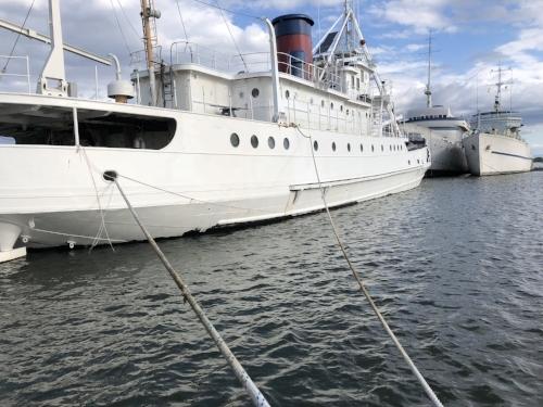 The starboard side after primer.