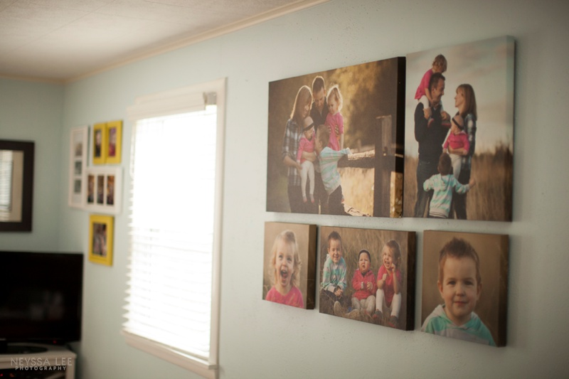 Photos on Canvas, Gallery Canvas, Wall Display Idea