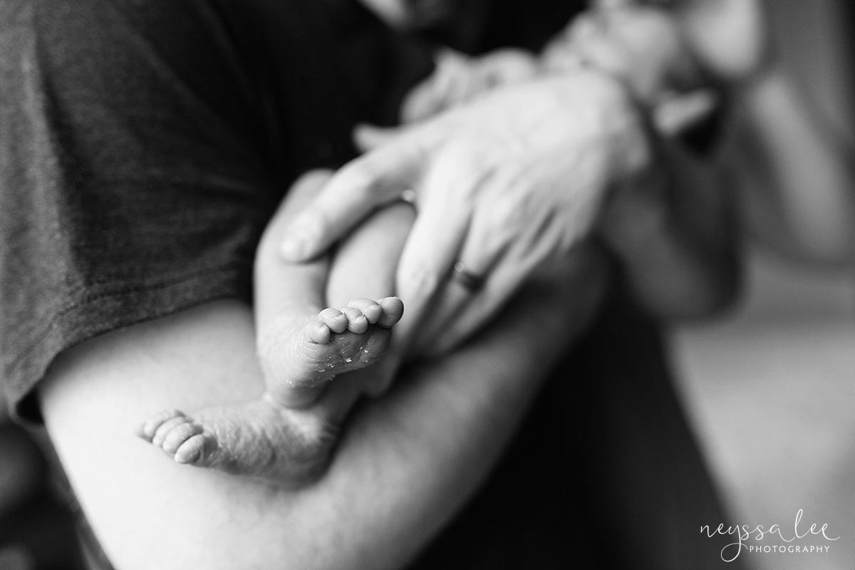 Family of 5, newborn baby girl, Snoqualmie Newborn Photographer