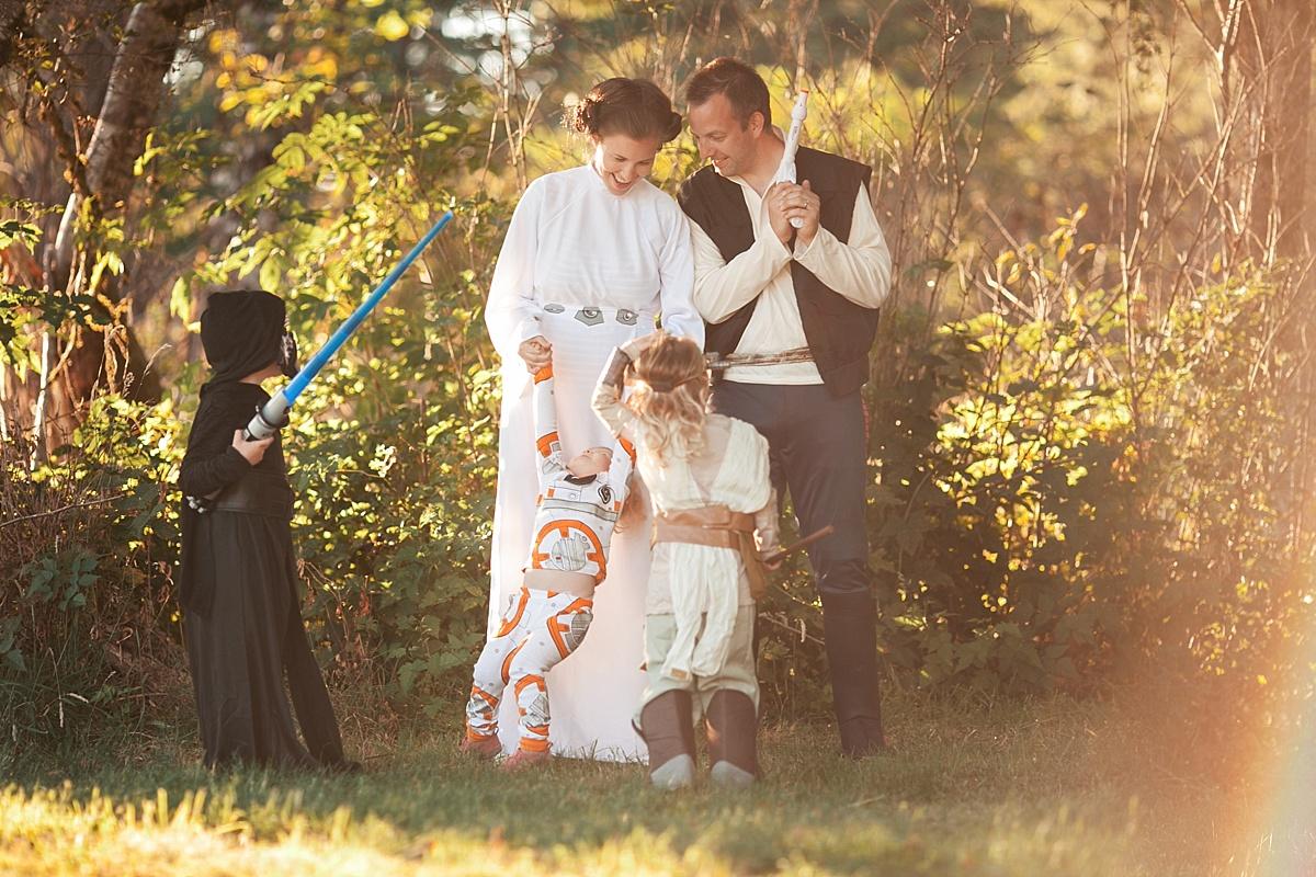 Star Wars Pregnancy Announcement, baby 4