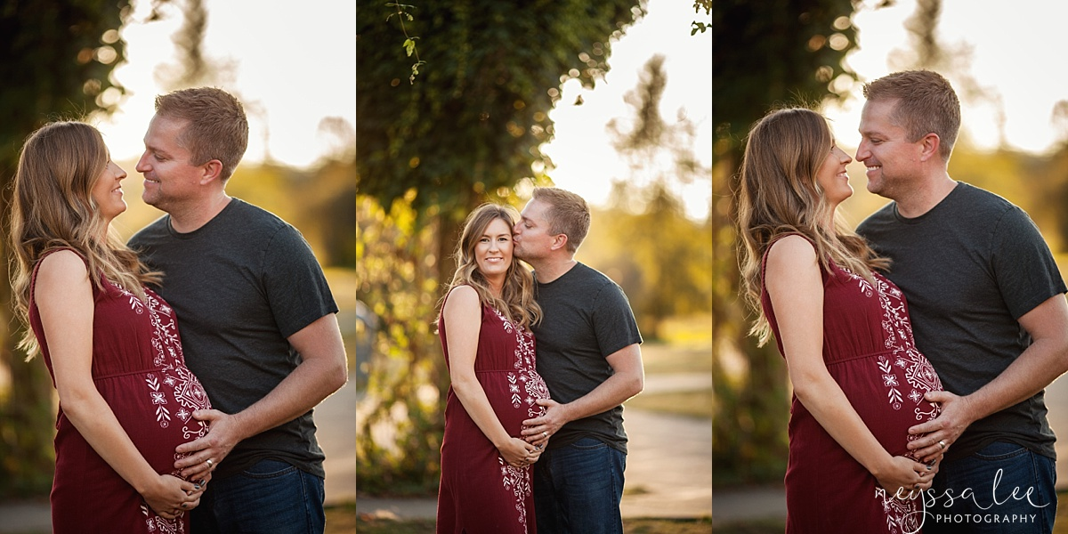 Neyssa Lee Photography Snoqualmie maternity photographer expecting couple