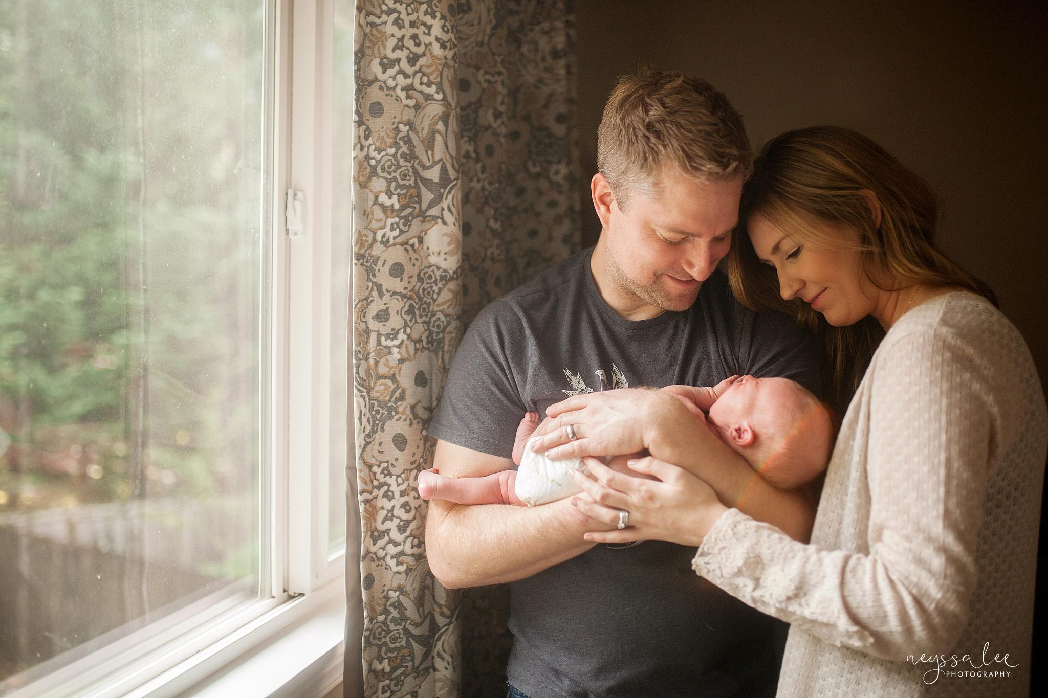 Snoqualmie Newborn Photographer, Neyssa Lee Photography, Newborn boy, lifestyle newborn photo
