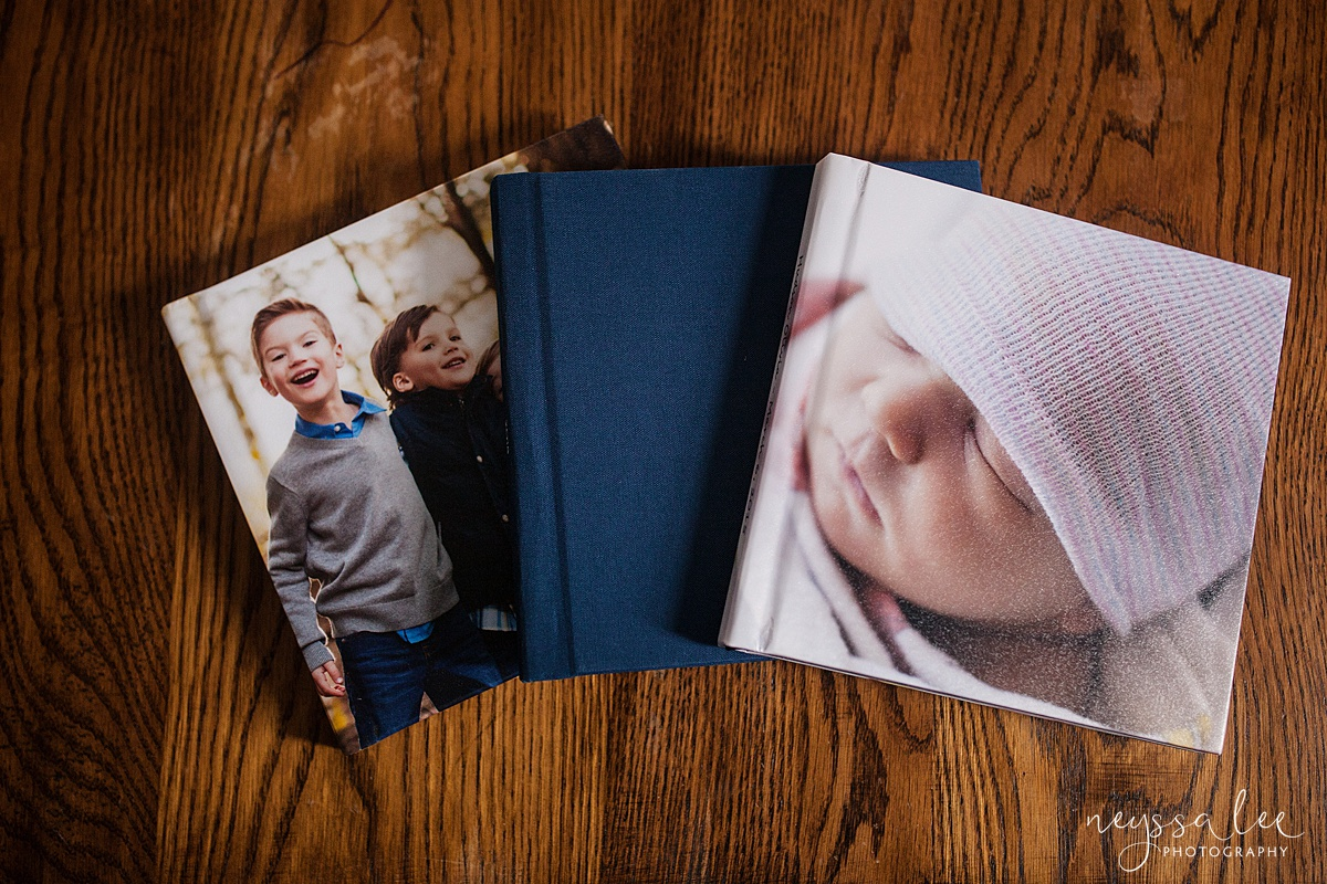 Custom Album with Your Photo Session, Neyssa Lee Photography, Album Cover options
