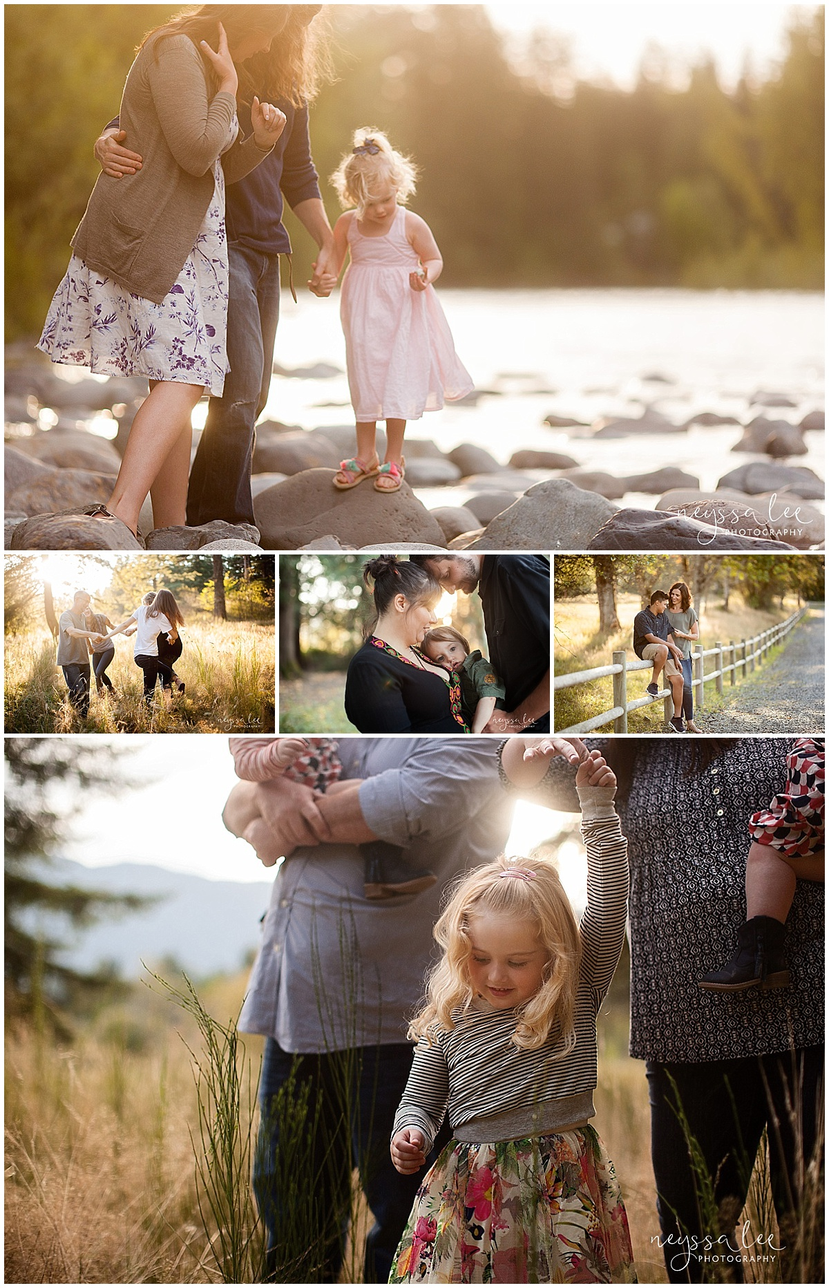Favorite Locations for Fall Family Photos around Seattle, Neyssa Lee Photography, Snoqualmie Family Photographer, Beautiful light photos