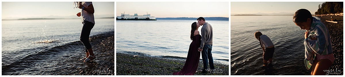 Favorite Locations for Fall Family Photos around Seattle, Neyssa Lee Photography, Snoqualmie Family Photographer,  Photos on the Water, Lincoln Park Seattle