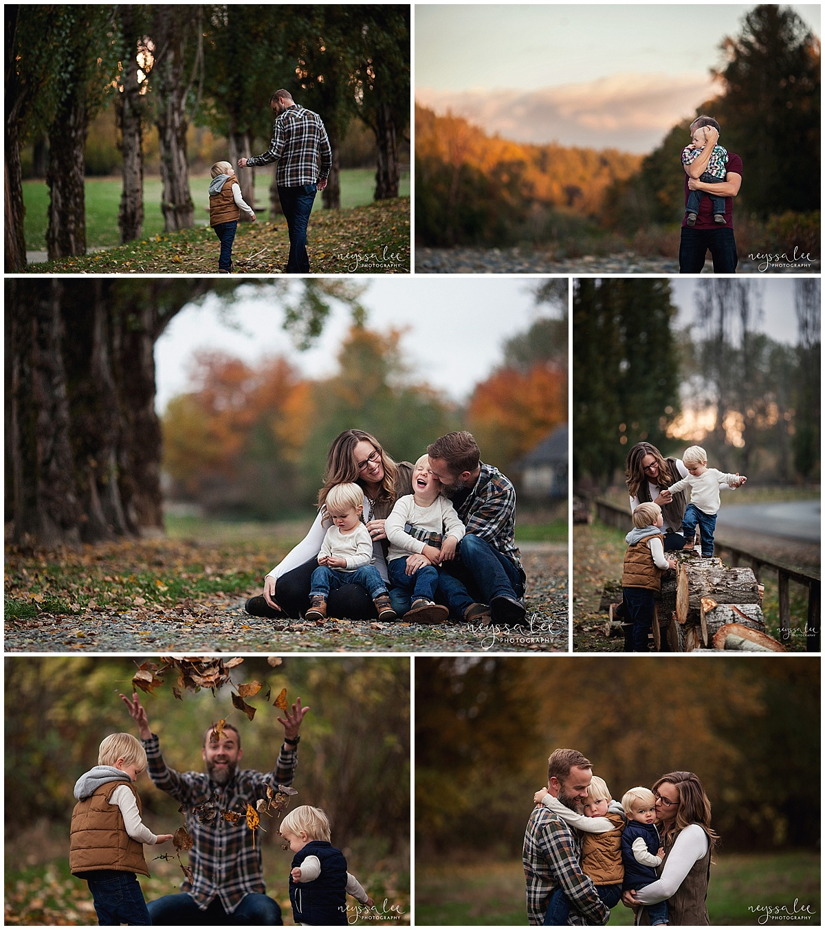 Favorite Locations for Fall Family Photos around Seattle, Neyssa Lee Photography, Snoqualmie Family Photographer,  Fall City Community Park