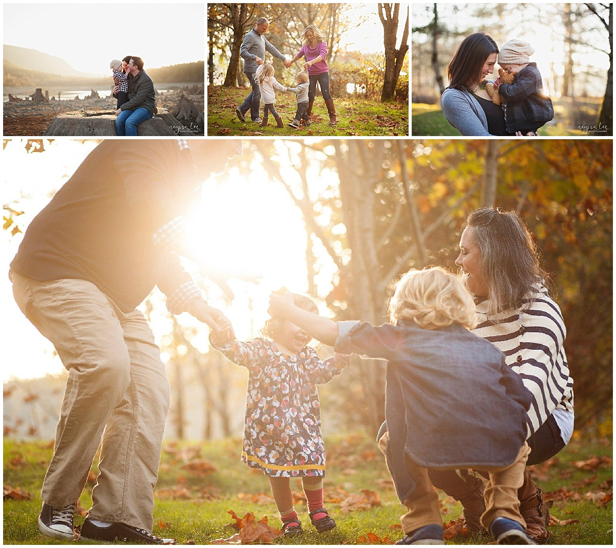 Favorite Locations for Fall Family Photos around Seattle, Neyssa Lee Photography, Snoqualmie Family Photographer, Loving Family Photos