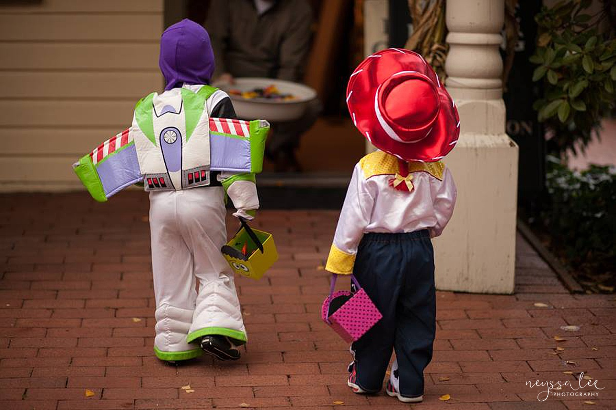 5 Tips for Magical Halloween Photos, Neyssa Lee Photography, Photo Tips, Buzz and Jesse Costumes