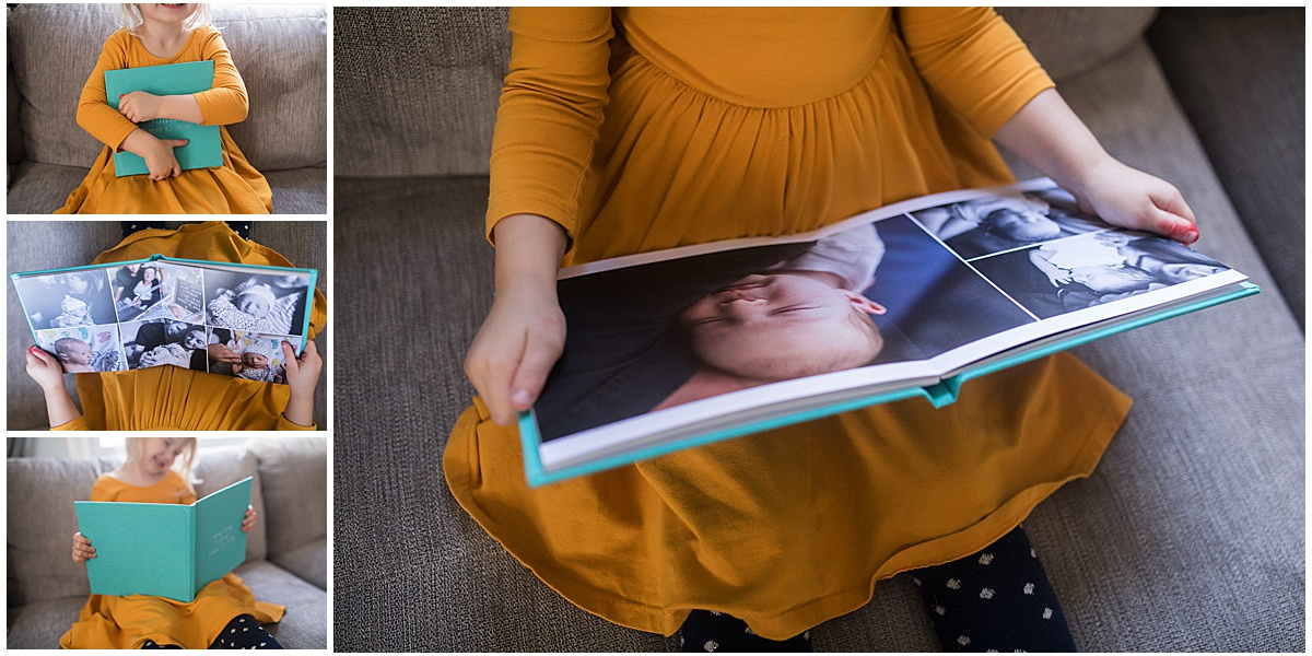 A custom album from your session makes a gift everyone will love pouring through.