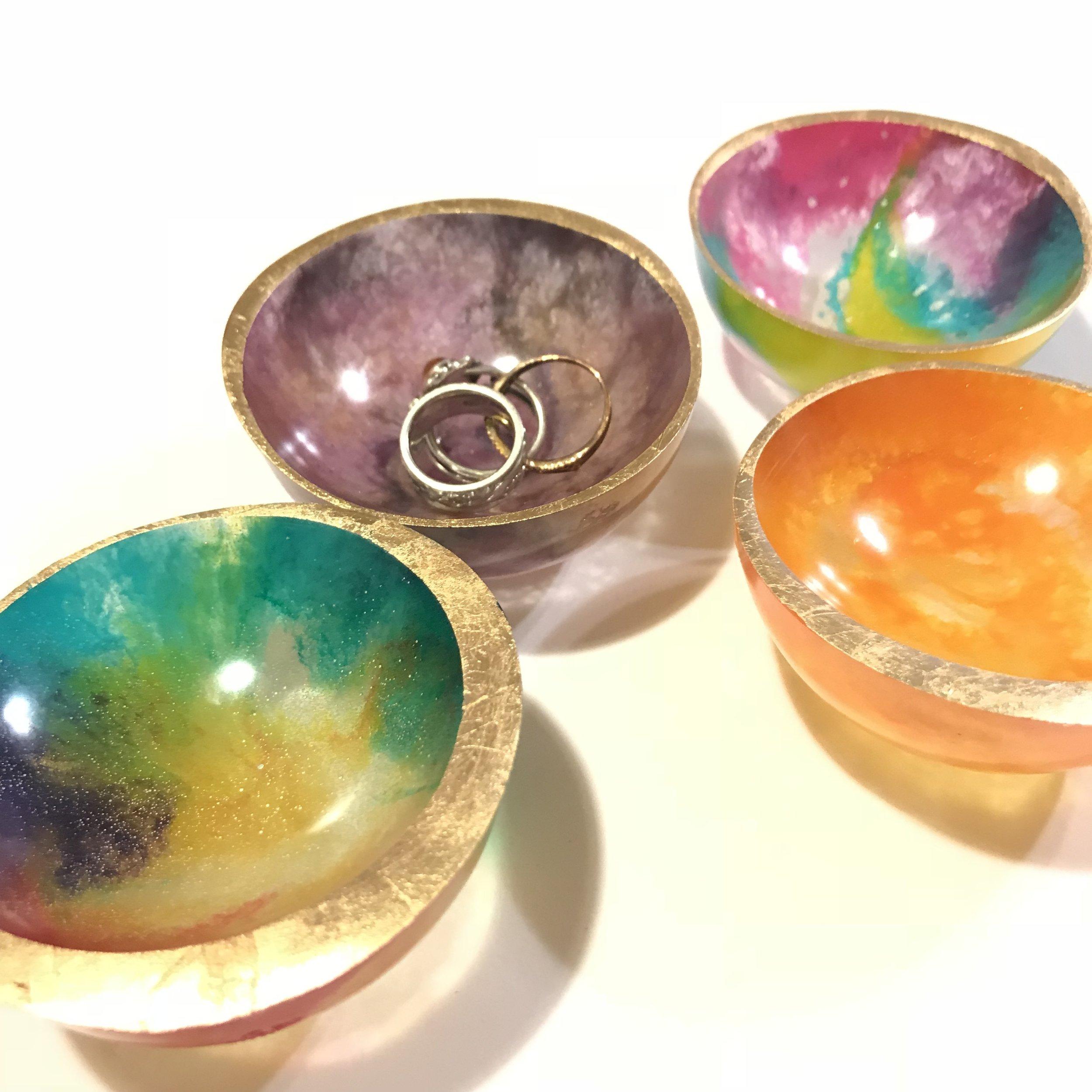 Tiny Resin Bowls