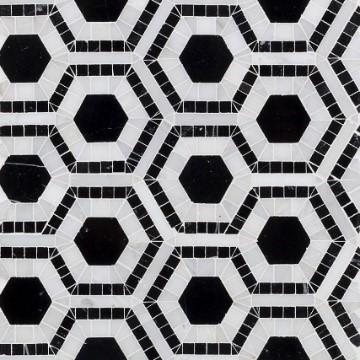 Hexagon Marble Tile